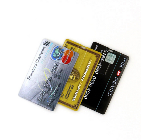Image of 4 GB Credit Card USB Flash Drive - FREE