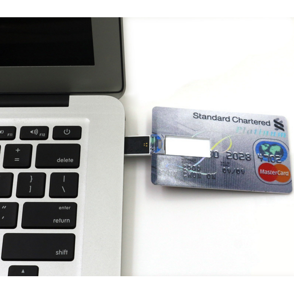 64 GB Credit Card USB Flash Drive
