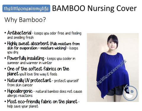 Why Bamboo All Around Nursing Cover