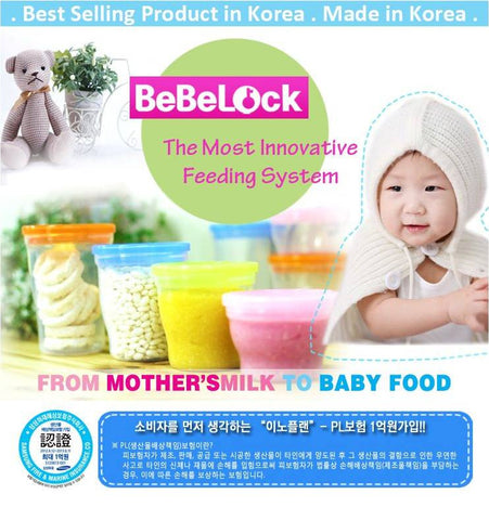 BeBeLock Airtight Container 120ml/180ml/240ml/280ml