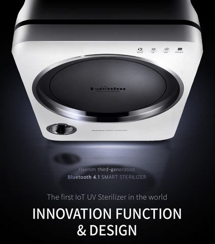 3rd Gen Haenim UV Sterilizer with Bluetooth 4.1