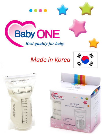 Baby One Breast Milk Storage Bags