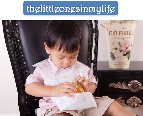 thelittleonesinmylife Disposable Bibs (10 pieces)