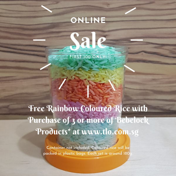 Rainbow Coloured Rice (For Sensory Play)