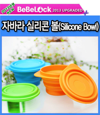 BeBeLock Silicon Folding Bowl