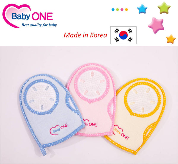 Baby One Bath Glove & Massager