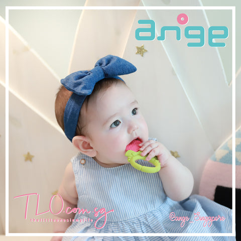 ANGE Strawberry Teether