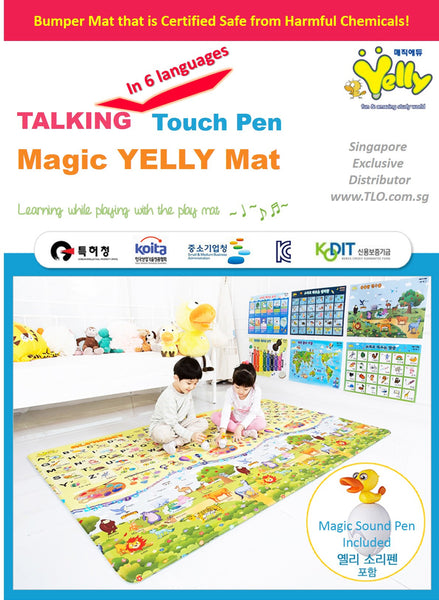 Yelly Mat's Magic Sound Pen (6 Languages) or Posters