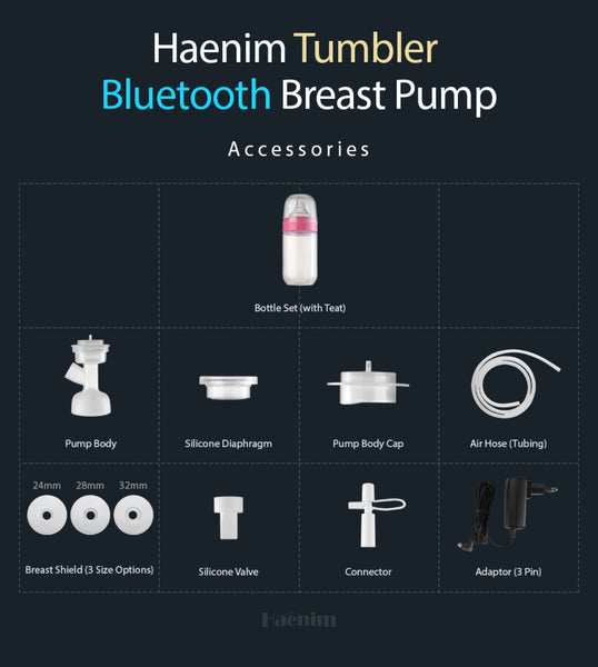 Spare Parts for Haenim 7S Bluetooth Breast Pump
