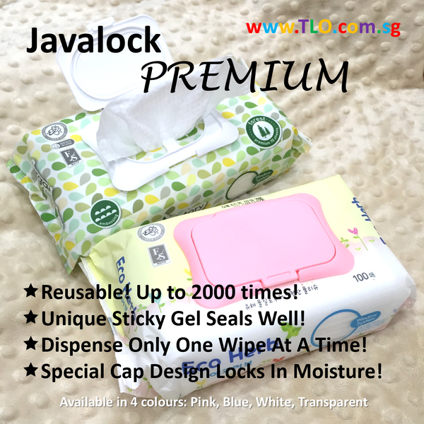 Javalock Reusable Wet Wipe Cover - PREMIUM