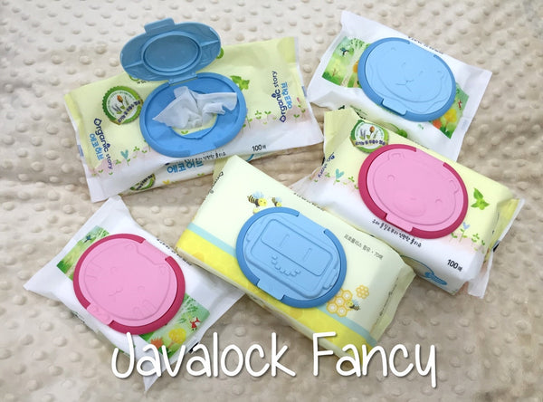 Javalock Reusable Wet Wipe Cover - Fancy
