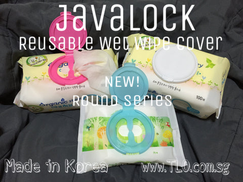 Javalock Reusable Wet Wipe Cover - Round