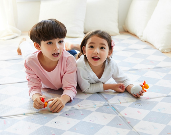 Cozybebe Sound Mat (Made in Korea) - Educational Talking & Singing Mat in SIX Languages!