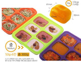 BeBeLock Silicone Tok Tok (S/M/L) - Food & Breastmilk Storage Tray from Korea