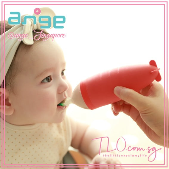 ANGE Jjayo Carrot Feeding Spoon