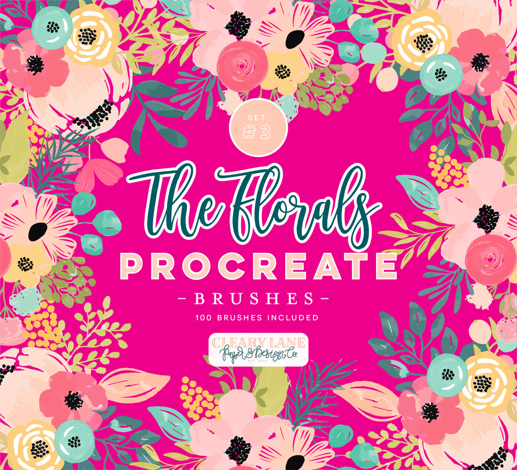 The Florals Procreate Brushes #3