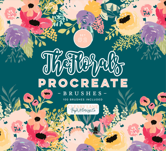 The Florals Procreate Brushes #2