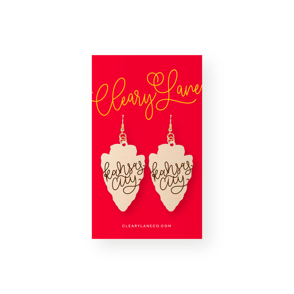 Arrowhead Kansas City | Dangle Earrings