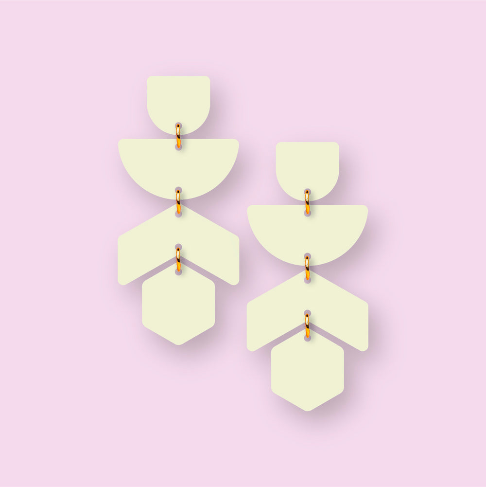 The Willow | Key Lime | Dangle Earrings