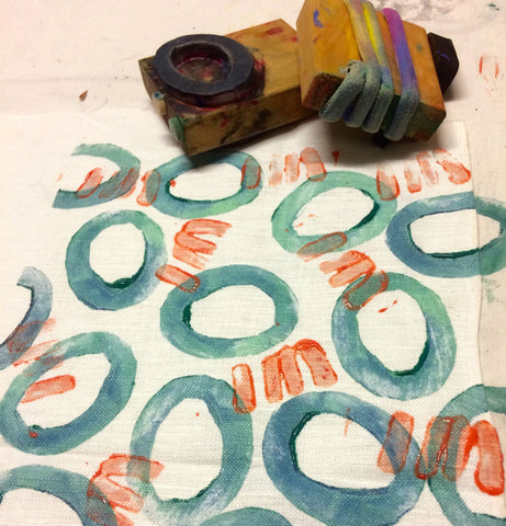 Fabric Block Printing and Dyeing Workshop