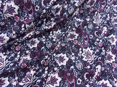 Printed Jersey Paisley