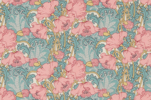 Liberty Fabrics Clementina Tana Lawn Cotton (Light Pink)