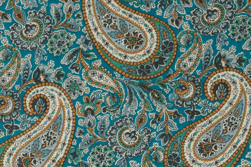 Liberty Fabrics Lee Manor Tana Lawn Cotton (Teal)