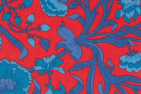 Liberty Fabrics Columbia Road Tana Lawn Cotton (Red)