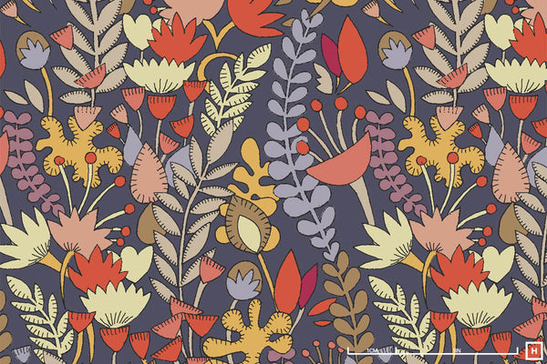 Windham Fabrics Fantasy by Sally Kelly Cotton Lawn