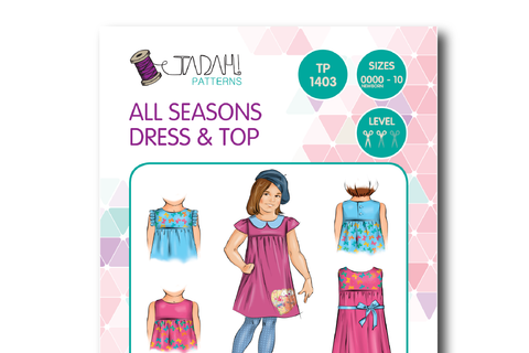 All Seasons Dress & Top [Tadah Patterns]
