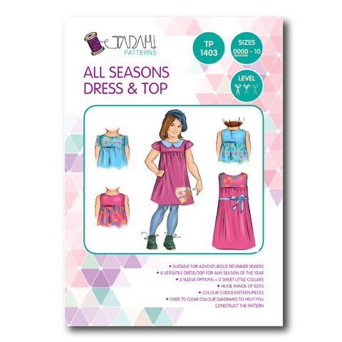 All Seasons Dress & Top (Tadah Patterns)