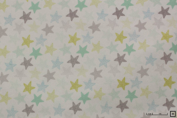 Dear Stella - Wide Awake Flannel - Stars (White)