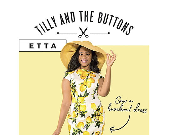 Etta Dress #1016 [Tilly And The Buttons]