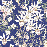 May Gibbs Cotton Flannel Flower Babies (Midnight)