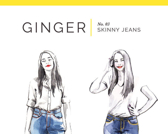 Ginger Jeans Pattern [Closet Core Patterns]