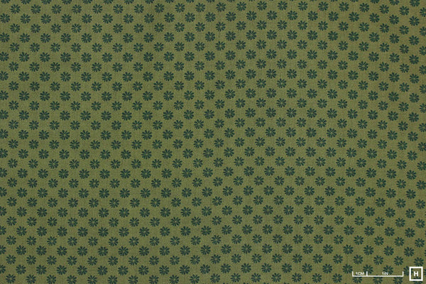 Liberty - The English Garden - Floral Dot (Green)