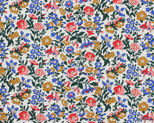 Liberty - The English Garden - Mamie (Blue/Red/Green)