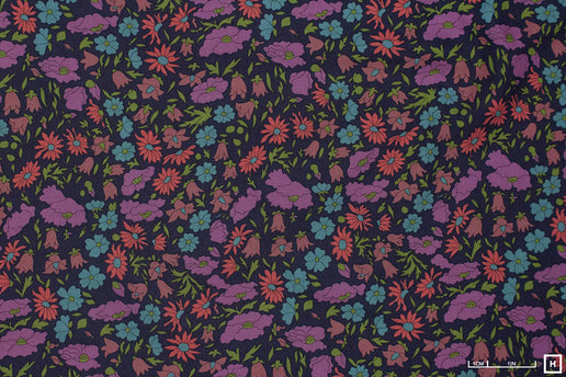 Liberty Fabrics Poppy and Daisy Lantana (Blue)