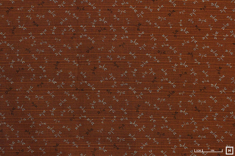 Sevenberry Cotton Printed Shantung (Autumn)