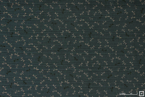 Sevenberry Cotton Printed Shantung (Slate)