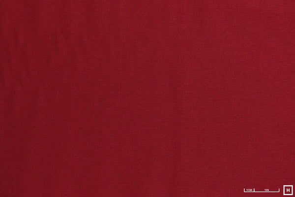 Japanese Cotton Dyed Twill (Red)