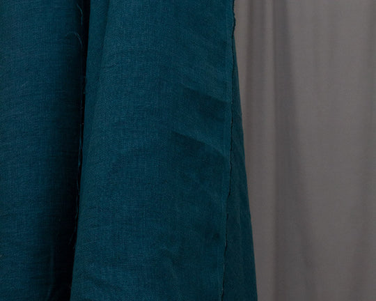 Alta Mare Laundered Linen by Merchant & Mills (Teal)