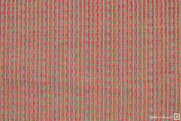Textured Cotton/Linen (Orange/Yellow/Red)