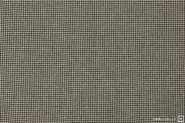 Italian Wool Blend Houndstooth (Brown/White)