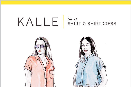 Kalle Shirt and Shirtdress No. 11 [Closet Core Patterns]