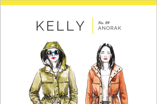 Kelly Anorak Jacket No. 09 [Closet Core Patterns]