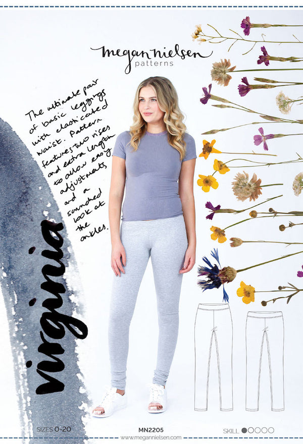 Virginia Leggings #MN2205 [Megan Nielsen Patterns]