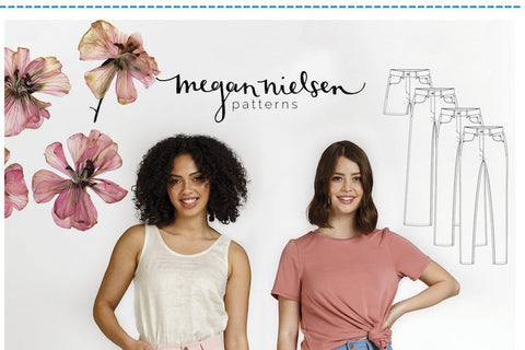 Dawn Jeans #MN2208 [Megan Nielsen Patterns]