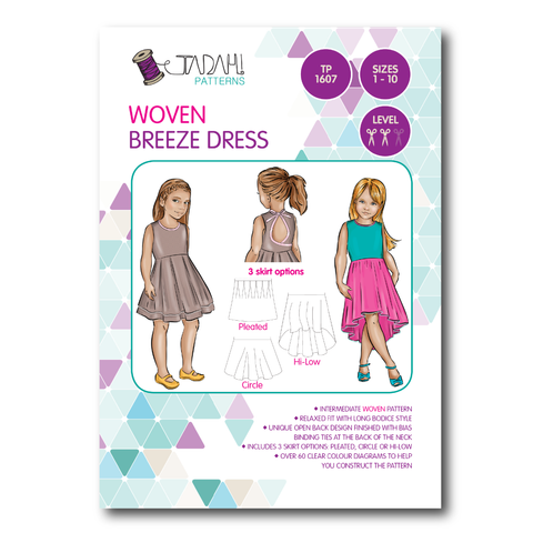 Breeze Dress (Tadah Patterns)