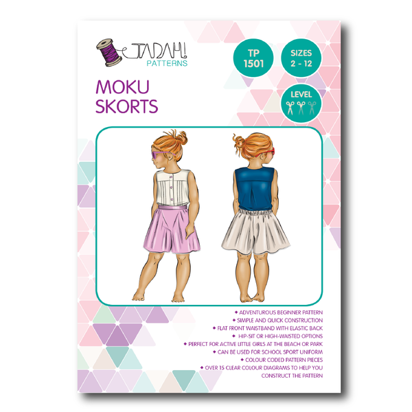 Moku Skorts [Tadah Patterns]